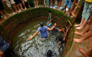 Goa celebrates the famous Sao Joao Festival in June